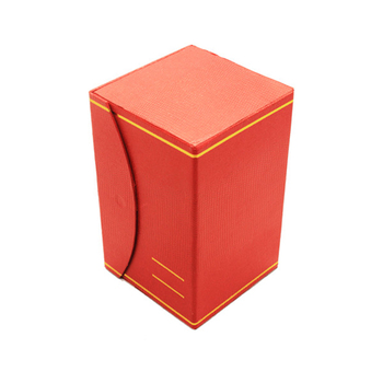 Popular Sale Red Special Paper Bottle 8ml Perfume Box