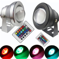 Submersible dmx512 control 18watt light underwater ip68 led underwater lights for fountains