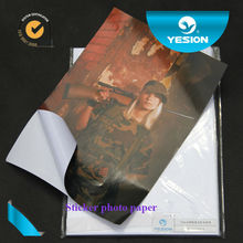 90gsm A4 glossy self-adhesive photo paper made in China