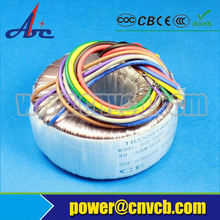 200VA 600VA toroidal power transformer 220v 24v