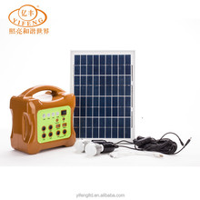 YiFeng YF-10W Portable Solar Energy Lighting Kit, Mini Solar Power System Home