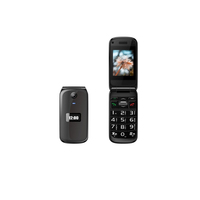 Cheapest Flip Feature Phone 3G WCDMA Unlocked Big Button High Quality Flip Senior Phone
