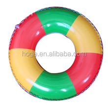 120cm colourful inflatable PVC swimming ring