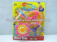 plastic flash spin disk toy