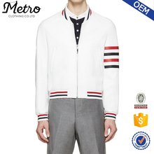 High Quality Cotton Fleece Bomber Jackets for Men Printed