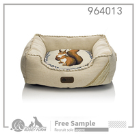 New design machine washable cute cheap pet bed for dog