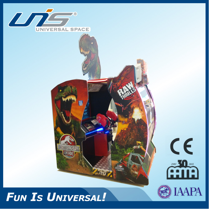 UNIS Jurassic Park Paradise Lost fun shooting games, arcade shooting games