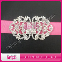 High quality wedding jewelry rhinestone clasp closure buckles