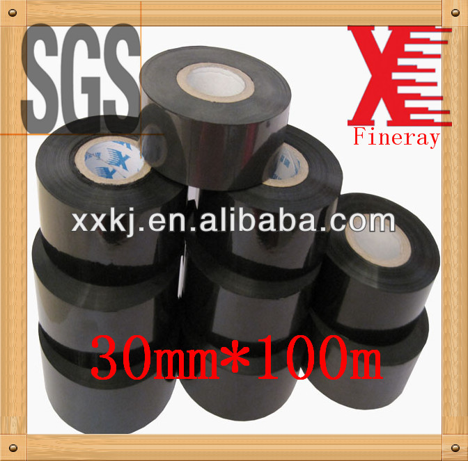 Printing batch number or expiration <strong>date</strong> used on auto batch coding machine Fineray FC3 black 30mm*100m expiry <strong>date</strong> stamping