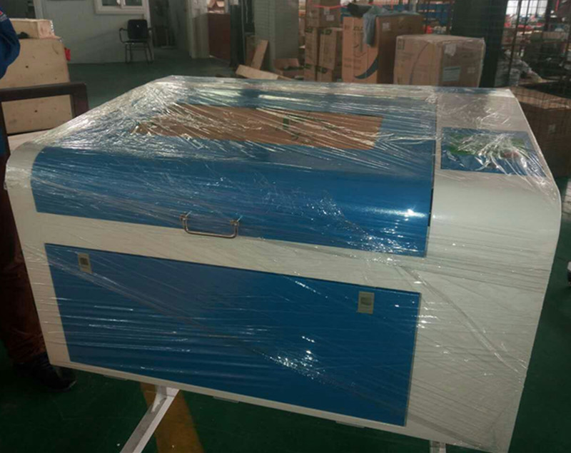80w co2 small MDF Wood Acrylic Granite stone Paper Fabric laser cutting machine 6040 price