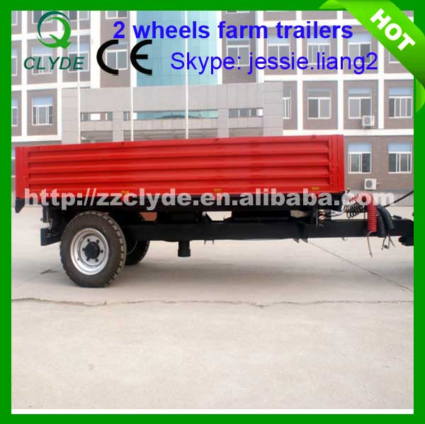 High quanlity professional singe axle for farm trailer hot sale