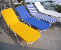 HL-B-15031 Outdoor leisure beach lounger swimming pool chaise sun lounge chair