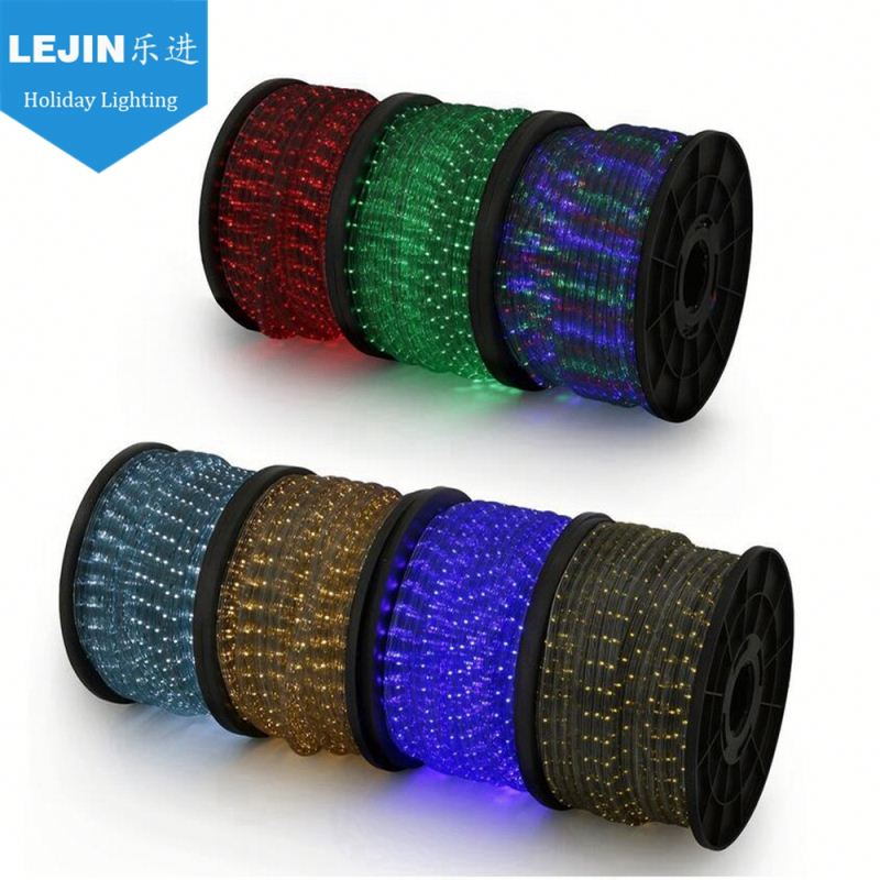 high waterproof rope light train outdoor use