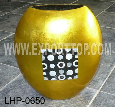 Unique Lacquer Vase (july.etop@exporttop.com)
