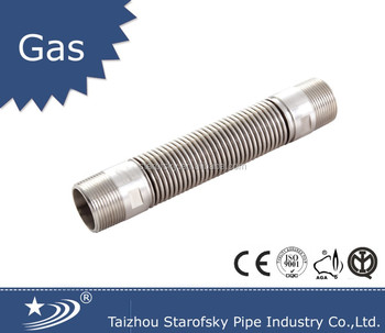 "1/2"" 3/4"" stainless steel soft corrugated hose/tube/pipe gas hose"