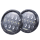 Top quality DOT 75W round 7 inch led headlight for Harley davidson