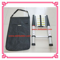 3.8M 13 steps aluminium ladder tool bag with EN131 SGS CE