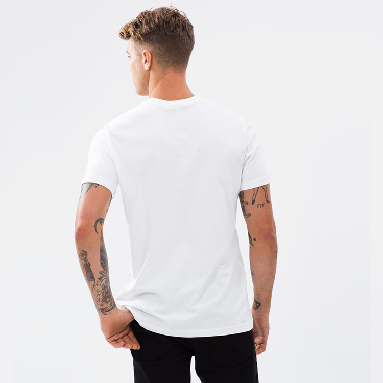 Yihao Wholesale High Quality Blank White Men Sports T