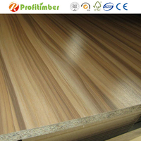 Good Quality Wood Grain Melamine Laminated Particle Board