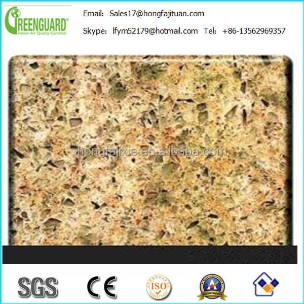 Zircon composition quartz slab, kitchen quartz countertop, quartz vanity top