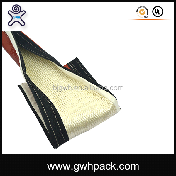 GWH heat resistant silicone adhesive fireproof vco sleeve for high temperature electrical wire