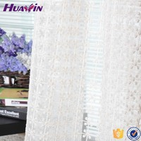 100% polyester Trustworthy China Supplier Ready Made Tab Top Sheer Voile Panel Cheap Window Curtains