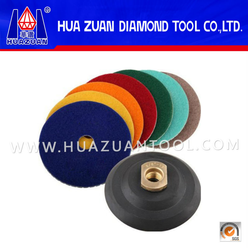 Hot Sell Premium Grade Diamond Floor Polishing Pad for GRANITE MARBLE STONE AND CONCRETE