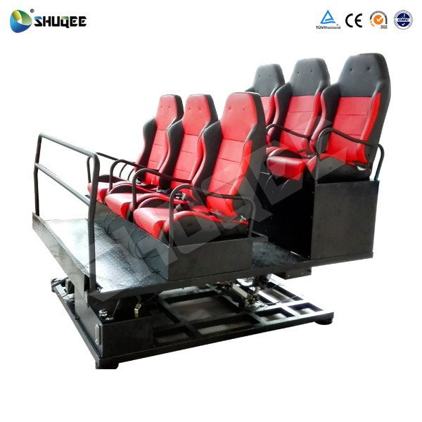 Hottest 5D 7D Cinema 6DOF Electric/Pneumatic/Hydraulic Platform