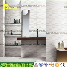 2017 new fashion bathroom ceramic wall tile 15x15