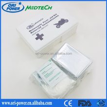 OP product CE FDA ISO approved promotional hot selling emergency car use automobile first aid kit
