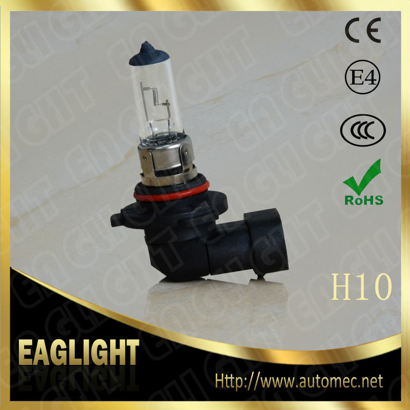H10 12V42W PY20D Clear Quartz glass Halogen Headlight auto bulbs