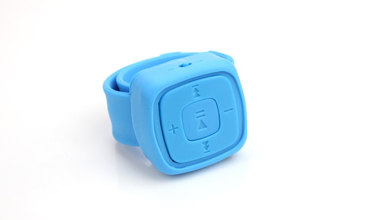Mini Pols MP3 Mini Wearable Mp3-speler Draagbare Muziekspeler Met Micro Tf-kaart Waterdichte Horloges MP3
