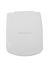 Europe Standard Quality Square(D) Shape Slow down Plastic (PP) Toilet Seat