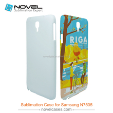 bulk phone case for Grand Note 3 Lite N7505,3d sublimation blank