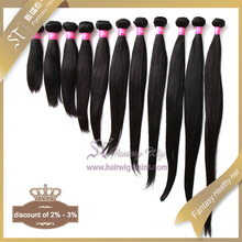"30"" Very Soft 100 Percent Natural Black Straight Brazilian Human Hair Wholesale From China Directly"