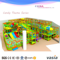 amusement park indoor playground, commercial used safe indoor playground toddler jungle gym