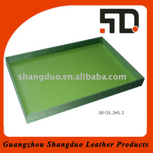 High Quality Factory Price Leather Tray