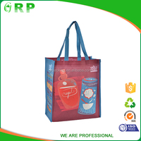 ISO/BSCI New arrival cheap custom logo pictures printing non woven shopping bag