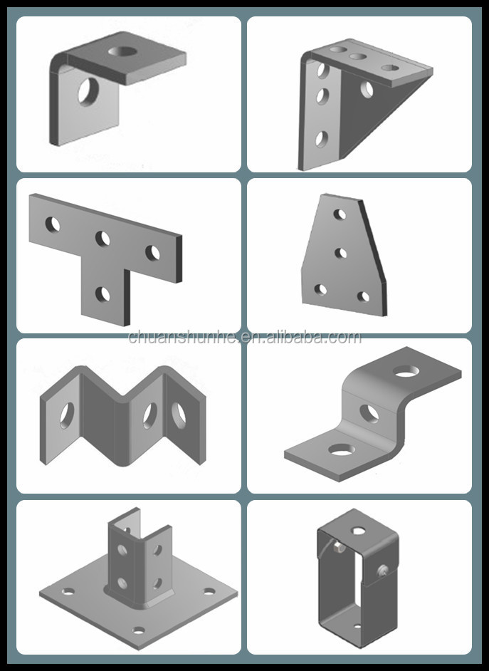 High Quality zinc plated beam clamp channel accessories