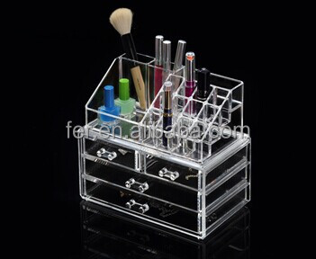 YQ good selling acrylic makeup organizer