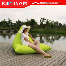 Yellow lazy boy sitting bean bag lounge chair covers outdoor bean bags