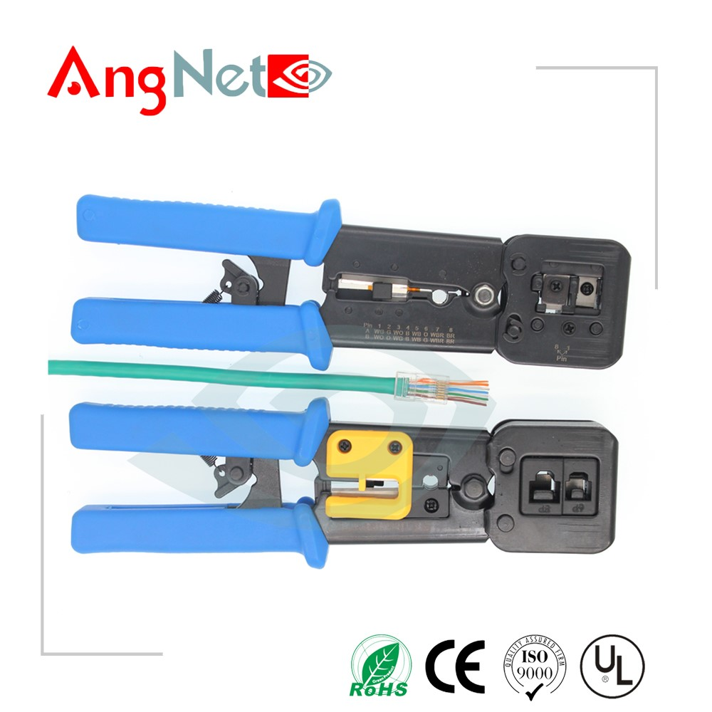 hardware rj45 crimping tool use for ez connectors