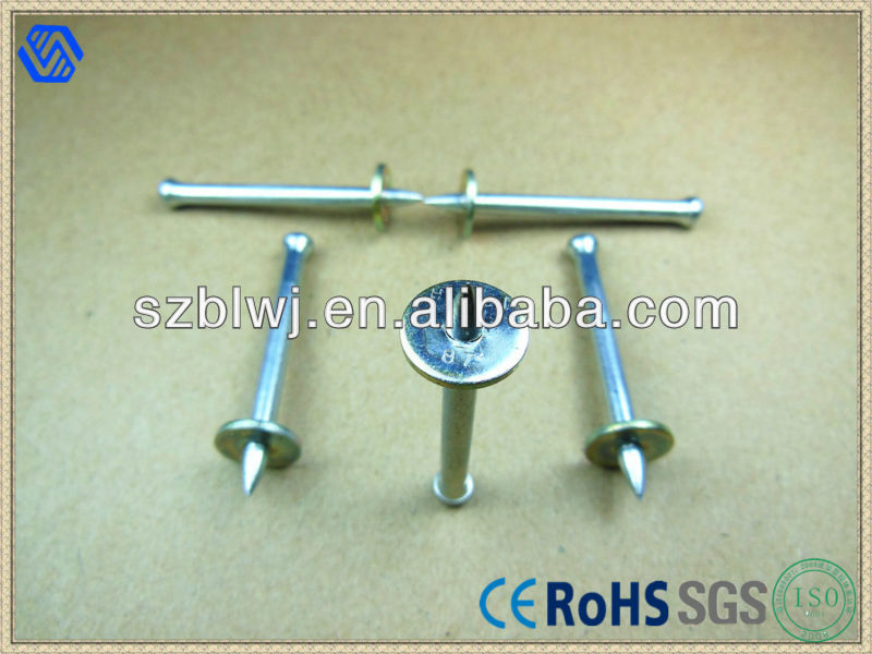 High-strength Drive Pins,Shooting Nails,Concrete Nails
