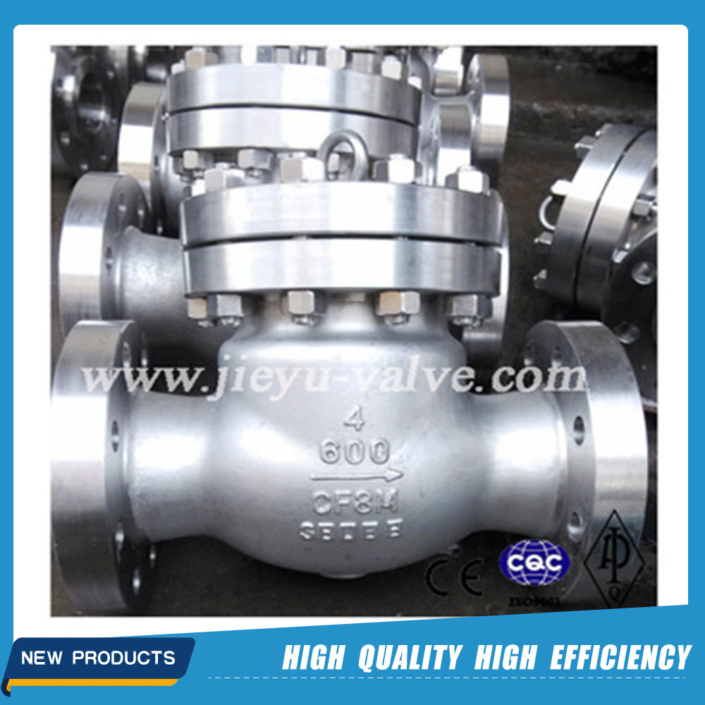 600LB Stainless steel Swing Check Valve Wenzhou Manufacture