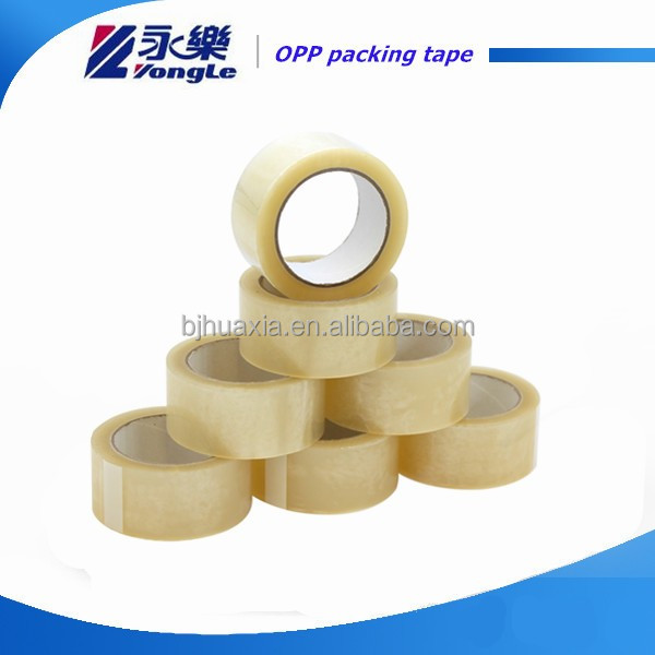 Crystal clear OPP/BOPP adhesive tape