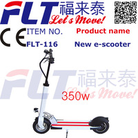 CE approved Cheap high power light weight white 2 wheel electric scooter
