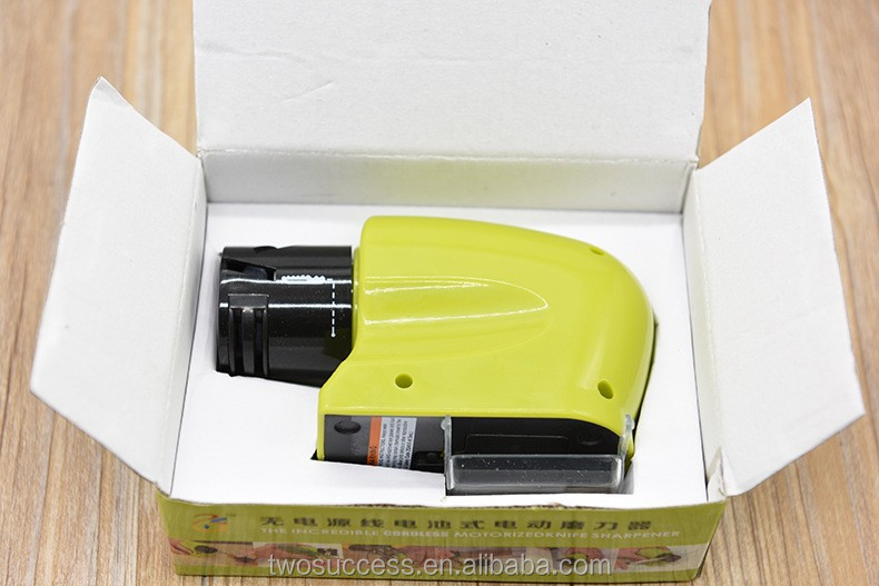 Wholesale Seen On TV Swifty Motorized Kitchen Tool Stone Multifunction Electric Knife Sharpener