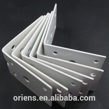 customized single side metal triangle corner bracket/bed sofa fitting parts
