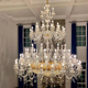 High Quality Modern Golden Colour Crystal Chandelier For The Hotel Decor