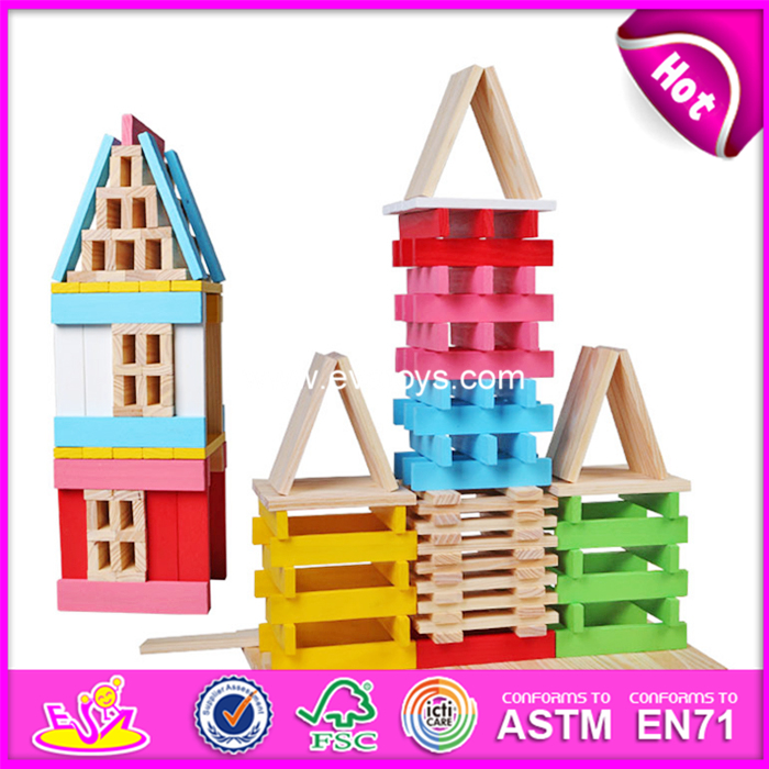 Child toy educational stacking blocks Wooden Jenga,wooden jenga blocks from esa toys W13D153